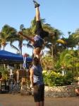 acrobatics with duo