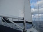 sailing to Old Bahama Bay